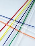 Daily Article. Colorful string stock photo