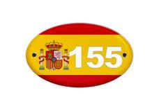 Article 155 de la constitution espagnole illustration de vecteur