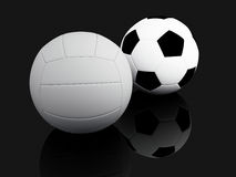 Article de sport. illustration 3D Photos stock