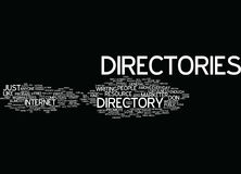 Article Directory Anyone Word Cloud Concept Stock Photo