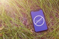 Article 13 l'amendement aux matériaux interdits par législation de l'UE de médias sur l'Internet photos stock