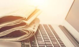Articles. Journal news background blurred buttons communication royalty free stock image