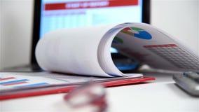 Articles d'affaires sur le Tableau banque de vidéos