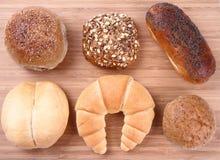 Articles de boulangerie image stock
