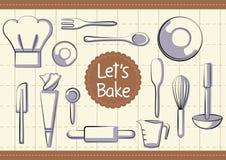 Articles de boulangerie Image libre de droits