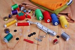 Articles de couture Photos stock