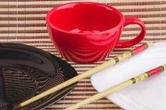Articles de cuisine pour des sushi Images libres de droits