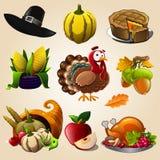 Articles de jour de thanksgiving Photographie stock