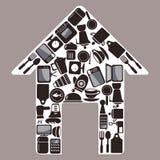 Articles de ménage Photographie stock libre de droits