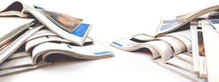 Articles de mode et conception de catalogue au-dessus du fond blanc photographie stock libre de droits