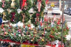 Articles de Noël à vendre Photos stock