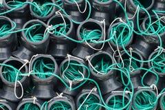 Articles de pêche de poulpe Photographie stock