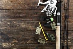 Articles de pêche et accessoires Photo libre de droits