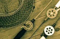 Articles de pêche et accessoires Photos libres de droits