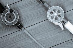 Articles de pêche et accessoires Images libres de droits