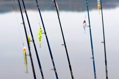 Articles de pêche pour l'amorce Image libre de droits