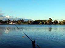 Articles de pêche pour les cannes à pêche, flotteurs Image libre de droits