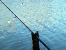 Articles de pêche pour les cannes à pêche, flotteurs Photographie stock