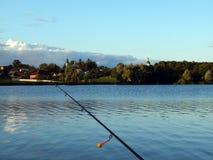 Articles de pêche pour les cannes à pêche, flotteurs Images libres de droits