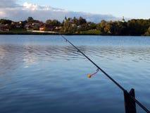 Articles de pêche pour les cannes à pêche, flotteurs Photos libres de droits