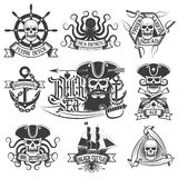 Articles de pirate Images stock