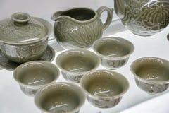 Articles de thé de la Chine Photo stock