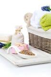 Articles de toilette pour la relaxation photographie stock