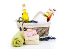 Articles de toilette pour la relaxation images stock