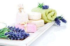 Articles de toilette pour la relaxation image libre de droits