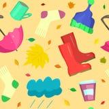 Articles de vie quotidienne d'automne Photo stock