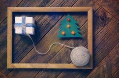 Articles des vacances de Noël Photographie stock