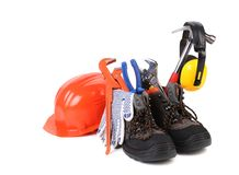 Articles of fitter. Stock Photo