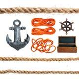 Articles marins. Images libres de droits