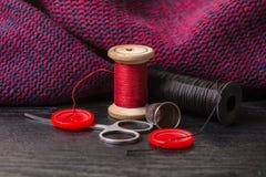 Articles pour la couture Photo stock