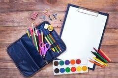 Articles pour la créativité des enfants photos libres de droits