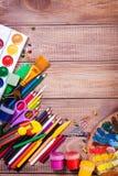 Articles pour la créativité des enfants image libre de droits