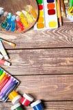 Articles pour la créativité du ` s d'enfants photographie stock libre de droits