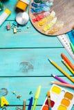 Articles pour la créativité du ` s d'enfants photo libre de droits