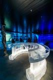 Artico冰酒吧在Honningsvag,挪威 免版税库存图片