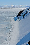 Artico. Ghiaccio del mare Glaciale Artico. Immagini Stock Libere da Diritti