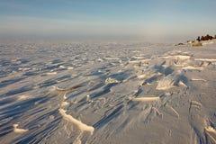 Artico. Ghiaccio del mare Glaciale Artico fuori da Chukotka. Immagine Stock Libera da Diritti
