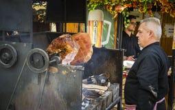 Articolazione della carne di maiale, Praga Immagini Stock