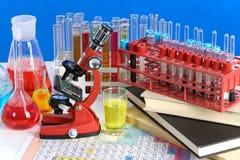 Articoli del laboratorio Fotografia Stock