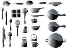 Articoli della cucina Fotografia Stock Libera da Diritti