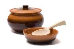 Articoli di ceramica. fotografia stock