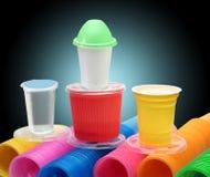 Articoli di plastica immagine stock libera da diritti