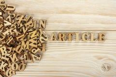 Articoli di scrittura Dal mucchio delle lettere per creare il testo FO fotografie stock libere da diritti