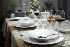 Articoli per la tavola di ceramica Fotografie Stock