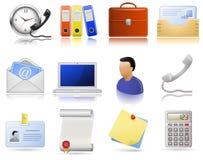 Articoli per ufficio illustrazione di stock