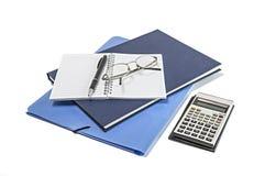 Articoli per ufficio e del banco Immagini Stock Libere da Diritti